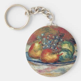 Todavía vida de Pierre-Auguste Renoir (la mejor ca Llaveros Personalizados