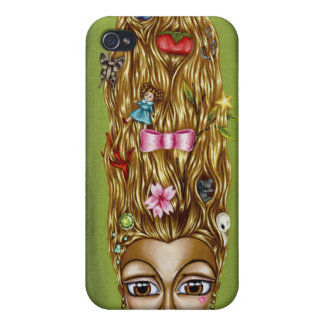 Todavía vida en caso del iPhone 4 del pelo iPhone 4 Protectores