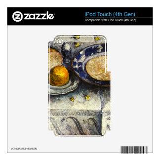 Todavía vida en la mesa de desayuno de iPod touch 4G skins