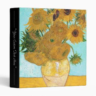 """Todavía vida - florero con doce girasoles Van Gogh Carpeta 1"""""""
