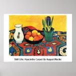 Todavía vida: Los jacintos alfombran en agosto Mac Poster
