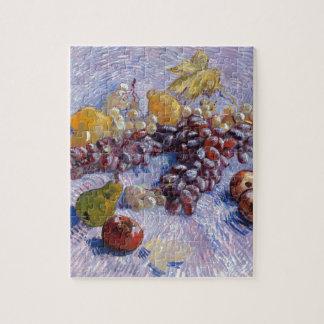 Todavía vida: Manzanas, peras, uvas - Van Gogh Puzzle