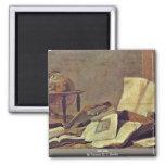 Todavía vida por Teniers D.J. David Imán De Frigorífico