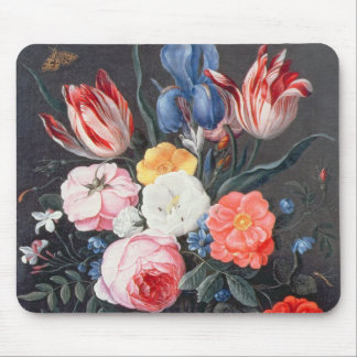 Todavía vida T32511 de flores en un florero, 1661  Alfombrilla De Raton