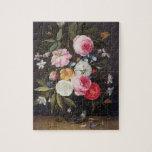 Todavía vida T32512 de flores en un florero, 1661  Rompecabezas Con Fotos