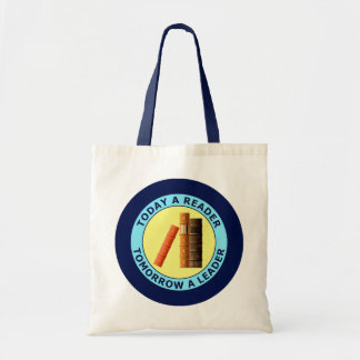 TODAY A READER TOMORROW A LEADER TOTE BAGS