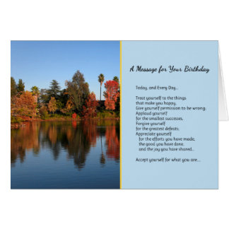 Today, and Every Day...Birthday Card