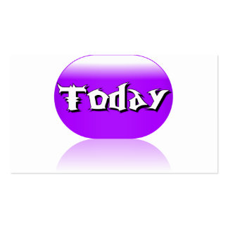 Today Business Card - Purple