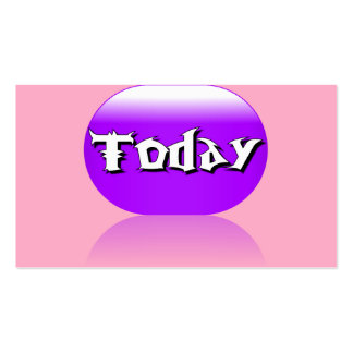 Today Business Card - Purple Pink