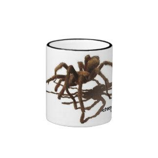 Today Creeps Tarantula Coffee Mug