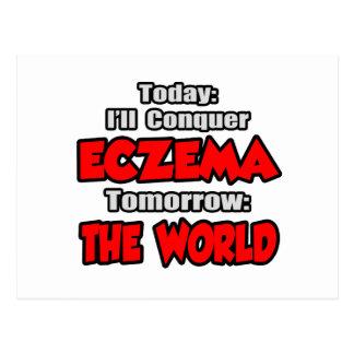 Today Eczema .. Tomorrow, The World Postcard