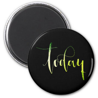 Today Green Black Priority Planner Home Office Magnet