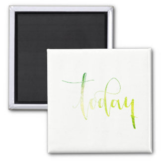 Today Green White Priority Planner Home Office Magnet
