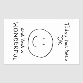 Today Has Been OK Sticker - The Doodle Chronicles