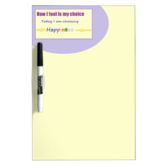 Today I am Choosing Happiness Dry-Erase Board