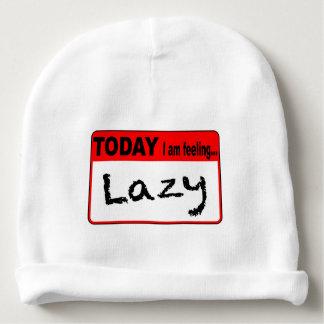 Today I Am Feeling Lazy Baby Beanie