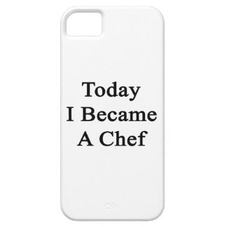 Today I Became A Chef iPhone 5 Cases