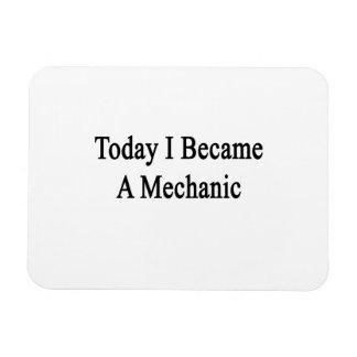 Today I Became A Mechanic Vinyl Magnet