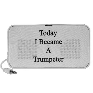 Today I Became A Trumpeter Laptop Speakers