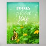 Today I Choose Joy Print