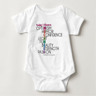 Today-I-choose-MUCHNESS Inspirational Gear Baby Bodysuit
