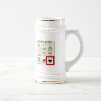 Today I Feel Chaotic Evil Beer Stein