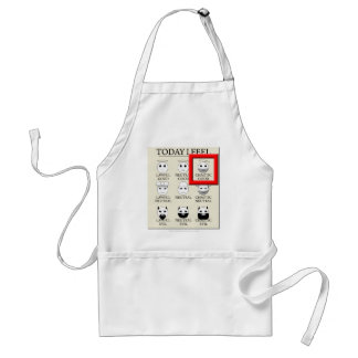 Today I Feel Chaotic Good Adult Apron