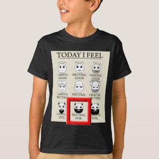 Today I Feel Neutral Evil T-Shirt