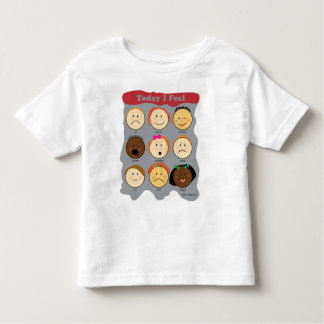 Today I Feel Toddler T-shirt