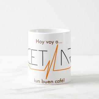 Today I go to recetARTE a good coffee! Cup 11 onz