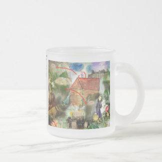 Today I help you 10 Oz Frosted Glass Coffee Mug