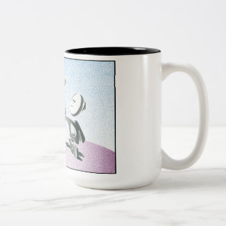 Today I Joined the Clouds Two-Tone Coffee Mug