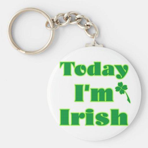 Today I'm Irish Keychains