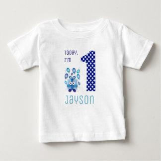 Today I'm 1 Blue Gift Box Boy Birthday Baby T-Shirt