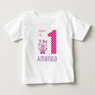 Today I'm 1 Pink Gift Box Girl Birthday Baby T-Shirt