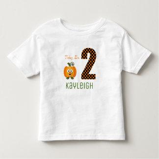 Today I'm 2 Little Pumpkin Toddler T-shirt