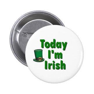 Today I'm Irish Button