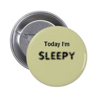 Today I'm SLEEPY - a MOOD button