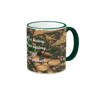 Today is a Gift verse Ringer Coffee Mug