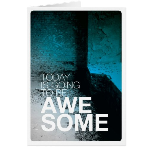 Today is awesome birthday card