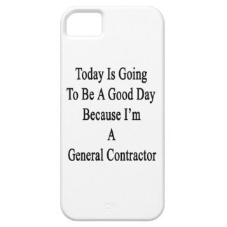 Today Is Going To Be A Good Day Because I'm A Gene iPhone 5 Case