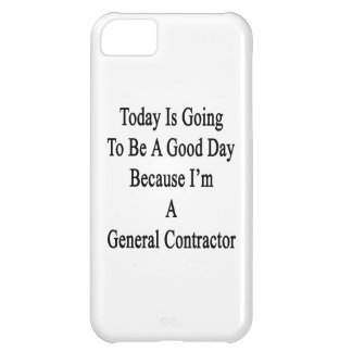 Today Is Going To Be A Good Day Because I'm A Gene iPhone 5C Cases
