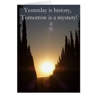 Today Is History Cards
