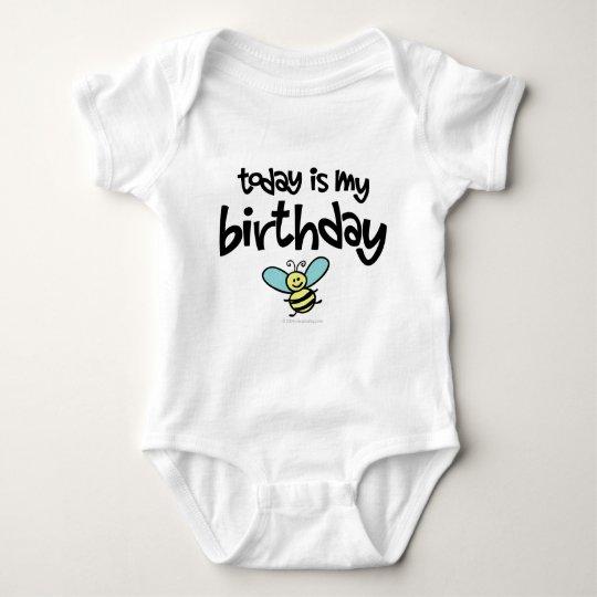 Today is my Birthday Baby Bodysuit