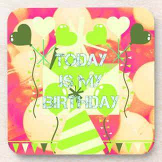 Today is My Birthday Beverage Coaster