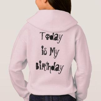 Today is my Birthday Girls' Hanes ComfortBlend® Ho Hoodie