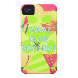 Today is My Birthday iPhone 4 Cover