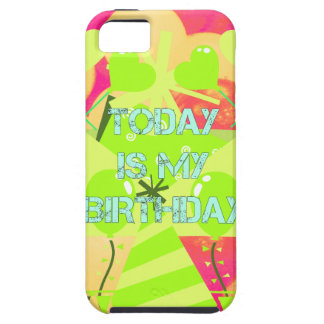 Today is My Birthday iPhone SE/5/5s Case