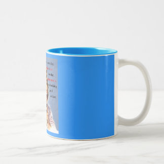 Today is not your day Two-Tone coffee mug