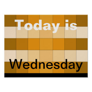 Today Is Wednesday 2 Poster